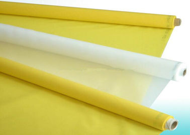Chiny Polyester Silk Screen Printing Mesh / Polyester Mesh Fabric Plain Weave Type dostawca