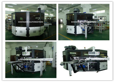 Chiny PLC System Automatic Screen Printing Machine / Screen Printing On Bottles dostawca