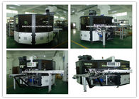 China PLC System Automatic Screen Printing Machine / Screen Printing On Bottles distributor