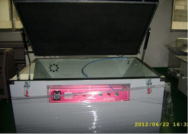 Single Face Screen Printing Vacuum Exposure Unit For Highly Dense Line Stencils