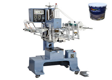 Chiny 0.5MPa Heat Transfer Printing Machine for Paint Barrels / Sanitary Barrels fabryka