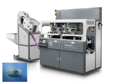 Chiny Fully Automatic Screen Print Machine Chain - Type For Multicolor Glass Tube Plastic Tube fabryka