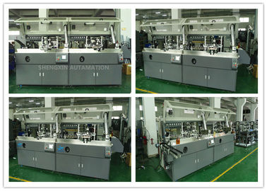 Chiny Automatic Screen Printing Machine Screen Print Machine For Plastic PET / PP / PE Bottles fabryka